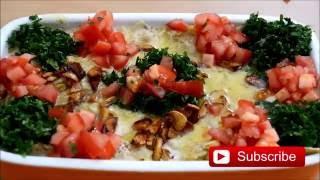 fattet hummus - Syrian recipe - just Arabic food