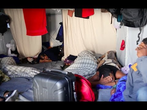 Undercover into Europe's most shocking refugee camp