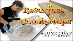 How to Resurface Countertops