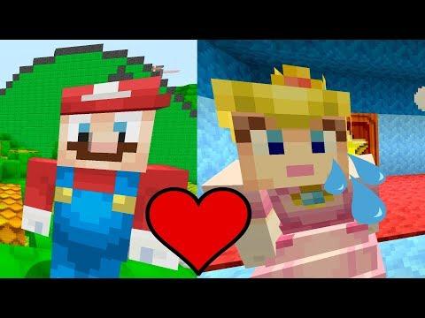 Peach's Depression... [She Still Loves Mario!] - Super Mario Series - (Minecraft Switch) [281]