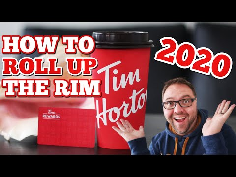 2020 - HOW TO ROLL UP THE RIM AT TIM HORTONS ON YOUR APP