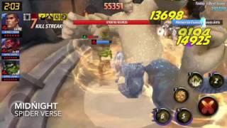 [Marvel Future Fight] ABX Combat/Villain Sandman 163K