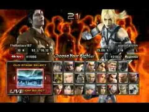 Tekken 5 Dark Resurrection Online Online Battles 1 20 8a Youtube