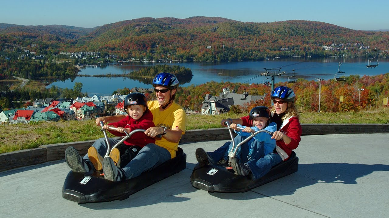 Skyline Luge Mont Tremblant: Experience the thrills of the ...