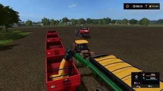 Farming simulator 17 - Blickling timelapse ep#55