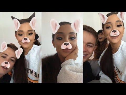 [1/2]Ariana Grande | Instagram Live Stream | 26 June 2018 [ HAPPY BIRTHDAY ]