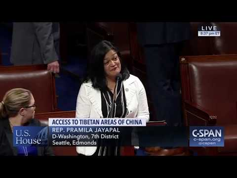 The US Congress debates and passes H.R.1872, Reciprocal Access to Tibet Act