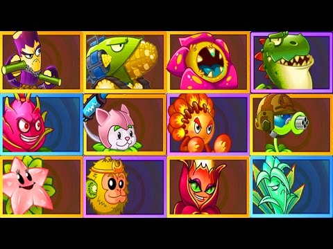 Plants vs. Zombies 2 Every Premium Plant Power-Up! (iOS/Adroid Gameplay)