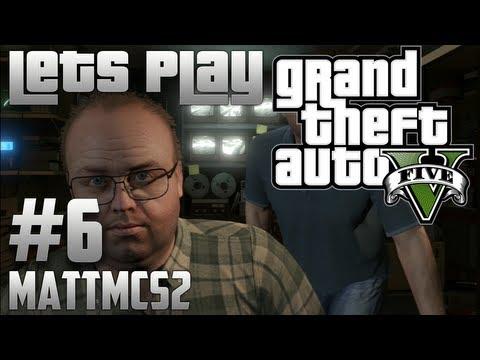 Grand Theft Auto 5 Let's Play Part 6 - Lester & Lifeinvader (GTA V Walkthrough)
