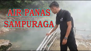 Vlog - Tempat Wisata AIR PANAS SAMPURAGA yang ada di Mandailing Natal