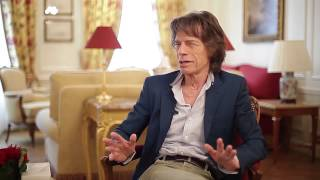 "Mick Jagger, about James Brown and ""Get on up"" - Télérama 2/2"