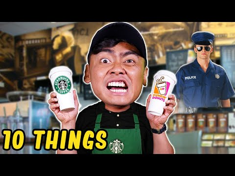 10 Things Not To Do at STARBUCKS..