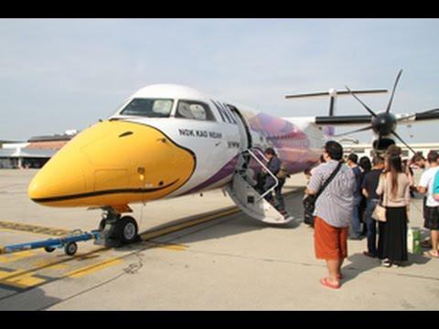 เที่ยวบินนี้วิวสวยมาก มองเห็นฟูจิเมืองเลยด้วย รีวิวนกแอร์ Nok Air ไฟล์กรุงเทพ - เลย ฺBangkok-Loei