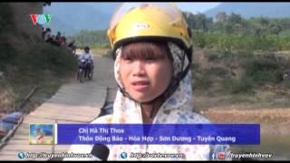 Nguy hiểm rình rập trên những cây cầu tạm ở Tuyên Quang