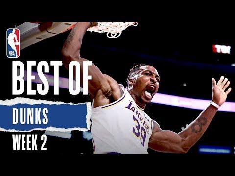 NBA's Best Dunks | Week 2 | 2019-20 NBA Season