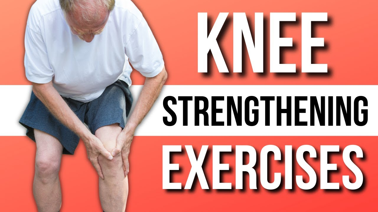 Single Best Knee Strengthening & Stretch Exercises At Home ...