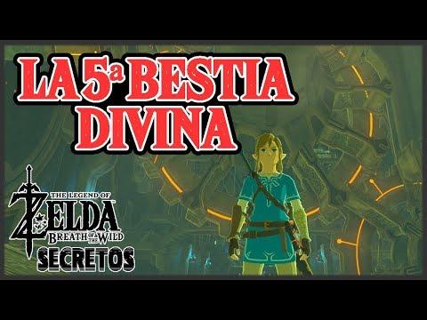 Secretos y Trucos de Zelda Breath of the Wild #101 - La 5ª Bestia Divina