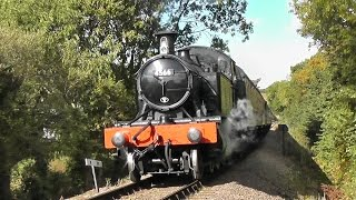 West Somerset Railway - Autumn Steam Gala - Saturday 4th October 2014