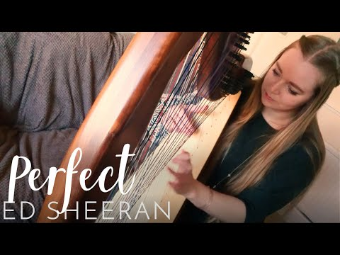 Perfect - Ed Sheeran (Harp Cover) Nottingham Wedding Harpist