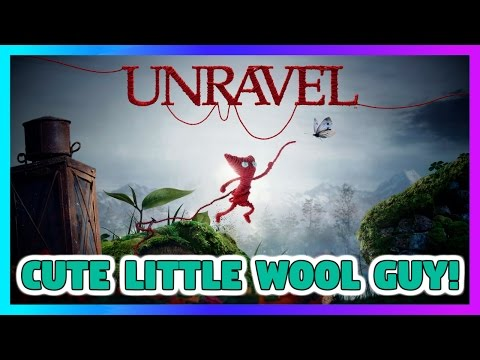 Cute Little Wool Guy! - Unravel Let's Play Part 1
