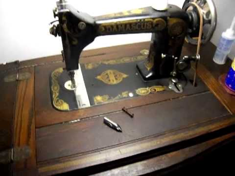 montgomery ward treadle sewing machine