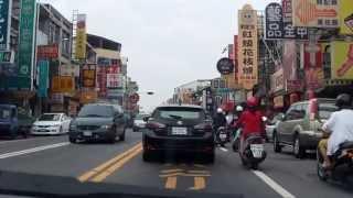 從車內看台南~大學路 長榮路 東寧路 裕農路 裕義路 一號國道南下