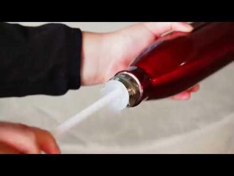 Long Bottle Brush with Cleaning Bristle Tip for Narrow Neck Kombucha & Beer Bottles