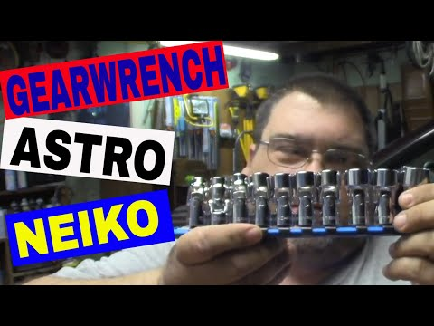 Tool Haul - GearWrench, Neiko, Astro Pneumatic, Powerbuilt, Advance Auto Parts, Duralast, Autozone