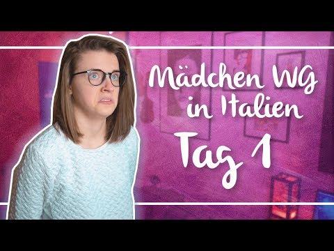 MÄDCHEN WG in ITALIEN |Tag 1| Annikazion
