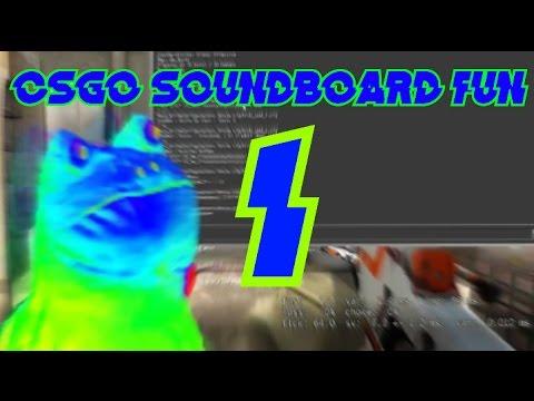 CSGO SOUNDBOARD FUN - YouTube