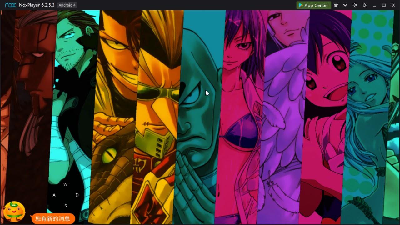Hội Pháp Sư – Fairy Tail game private tặng MAX VIP, 100 tệ FULL KC