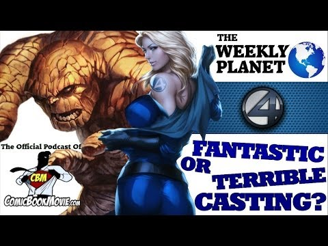 FANTASTIC FOUR 2015 - Fantastic Or Terrible Casting?