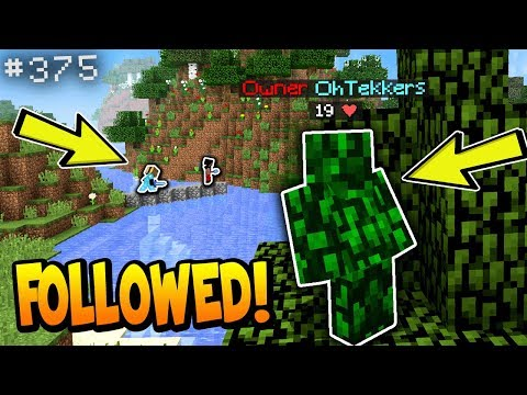 FOLLOWING TWO PEOPLE STRAIGHT TO THEIR BASE... (it actually worked) | Minecraft Factions #375