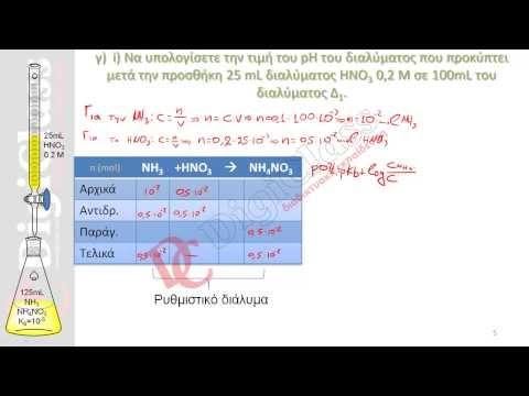 Άσκηση Ογκομέτρησης Χημείας Γ' Λυκείου - DigiClass