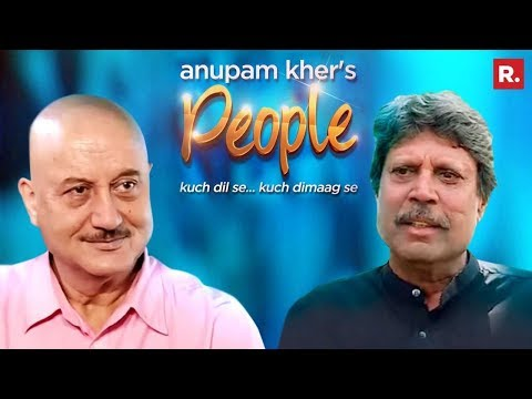 Anupam Kher's People with Kapil Dev