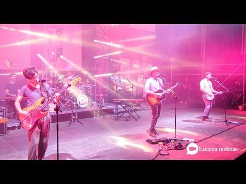VÍDEO: Estuvimos en el concierto de Morat en Lucena. No te pierdas estas imágenes...
