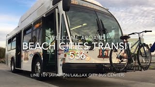Beach Cities Transit 2011 Eldorado National EZ Rider II BRT-CNG #536 | Coin Lloyd's Transit Hub