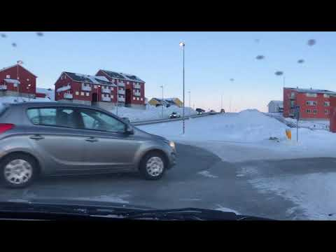 Morning Drive in Nuuk, Greenland