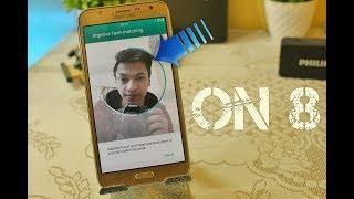 On 8 v2 with Face Unlock | Samsung Galaxy J7(5)