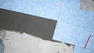 видео Подготовка к укладке плитки на деревянный пол