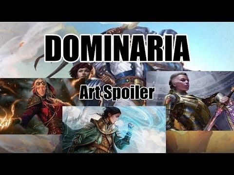 Dominaria Art Spoilers!: Grandma Jaya, Narset, Christy Mack?