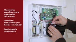 Alarma Serie X y Teclado LCD de AMC Elettronica