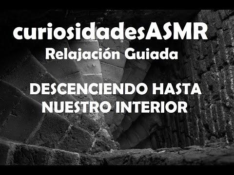 ASMR Relajación mental sonido 3D bajando por una escalera hasta tu interior (español voz hombre)