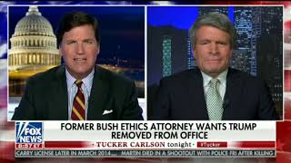 Former Bush Ethics Czar defends McCabe's actions - Tucker Carlson 2/19/19