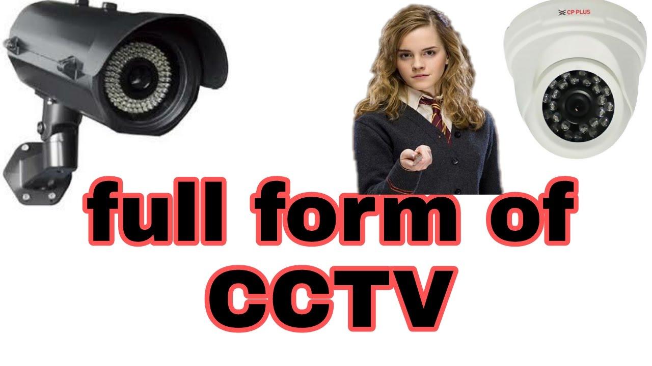 Fullform of CCTV camera - YouTube