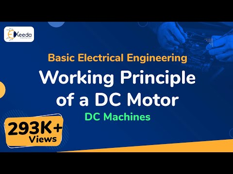 Working Principle of a DC Motor - DC Machines - Basic Electrical Engineering - First Year Engg