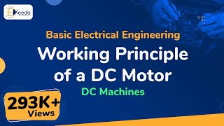 Learn DC Machines Online | Working Principle of DC motor | Ekeeda.com