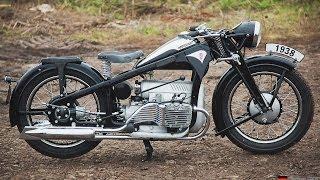Мото обзор - Zündapp K 800 (moto review)