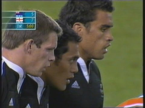 New Zealand v  England Rugby Sevens 2006