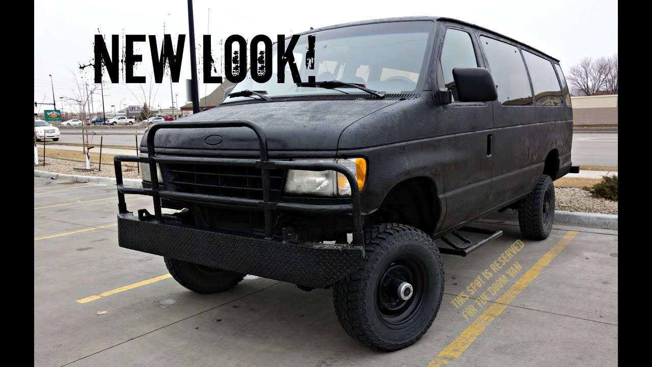 Epic 4x4 Beast Ford E 350 Bug Out Van Youtube
